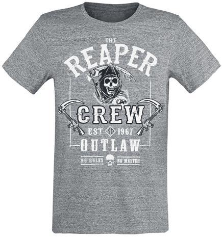 Sons Of Anarchy The Reaper Crew T-paita sävytetty harmaa