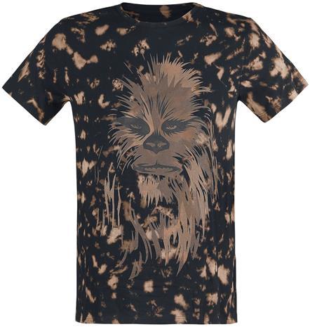 Star Wars Chewbacca T-paita musta-ruskea