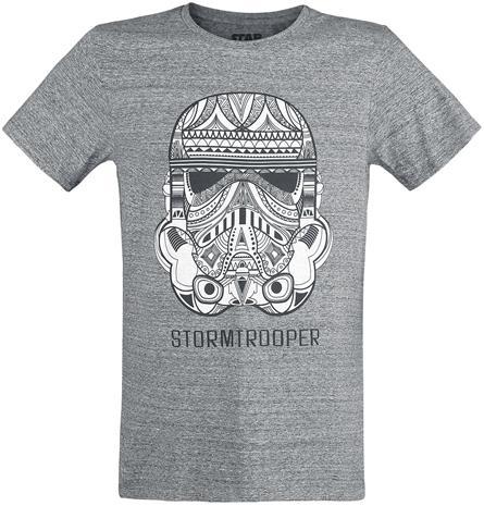 Star Wars Stormtrooper T-paita sävytetty harmaa