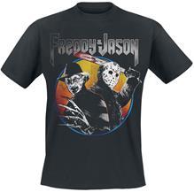 Freddy vs. Jason Concert T-paita musta