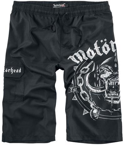 Motörhead EMP Signature Collection Uimashortsit musta