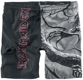 Iron Maiden EMP Signature Collection Uimashortsit musta
