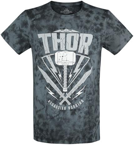 Thor Asgardian Warrior T-paita sininen-musta