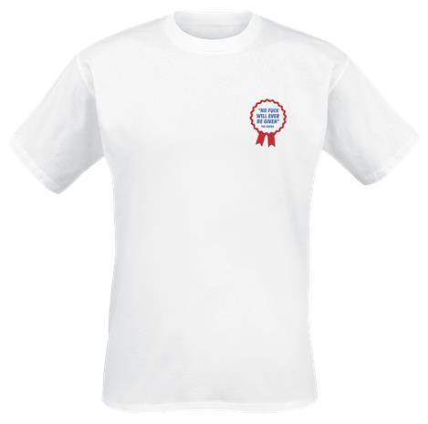 The Dudes President T-paita valkoinen