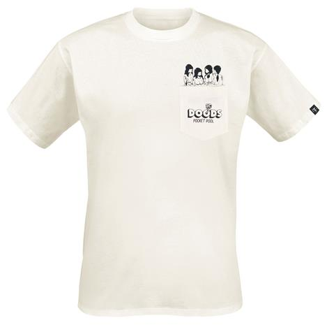 The Dudes Pocket Pool T-paita valkoinen