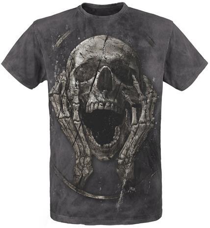 Alchemy England The Scream Returned T-paita harmaa