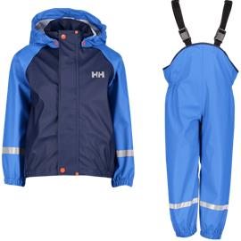 Helly Hansen K BERGEN PU RAINSET BLUE WATER