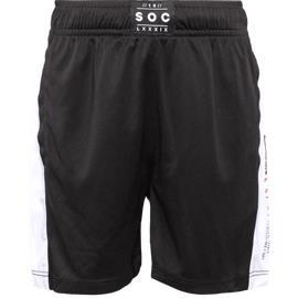 Soc K ACTIVE SHO BLACK/WHITE