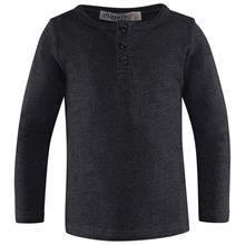 Grandpa T-Shirt LS Warm Grey Melange74 cm (6-9 kk)