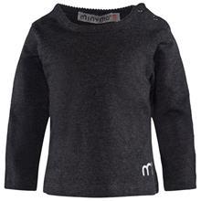 T-shirt LS Warm Grey Melange92 cm (1,5-2 v)