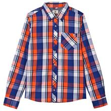 Blue and Orange Check Shirt10 years