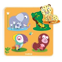 Mamijungle wooden puzzle