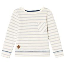 Graham sweater Blue fog stripe92 cm
