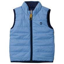 Blue Reversible into Navy Gilet10 years