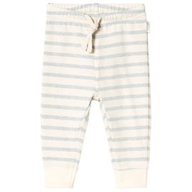 Gibbon sweat pant Blue fog stripe68 cm