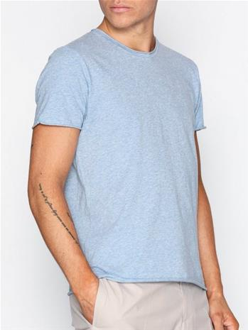 Filippa K M. Roll Neck Melange Tee T-paidat ja topit Light Blue