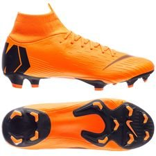 Nike Mercurial Superfly 6 Pro FG Fast AF - Oranssi/Musta/Neon