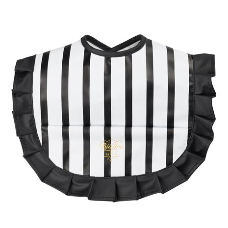 Bjällra of Sweden, Bib with black and white stripes