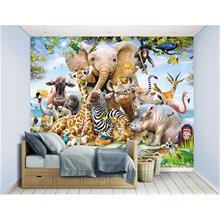 Walltastic, Jungle Safari Wall Mural
