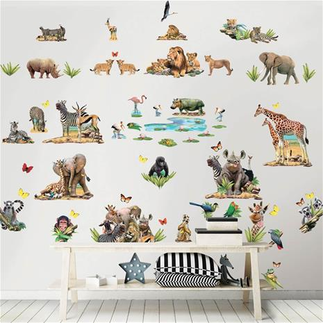 Walltastic, Jungle Safari Room Décor Kit