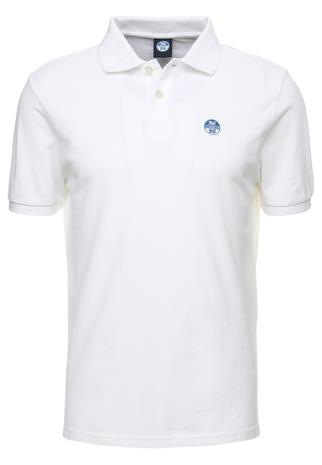 North Sails LOGO Pikeepaita white