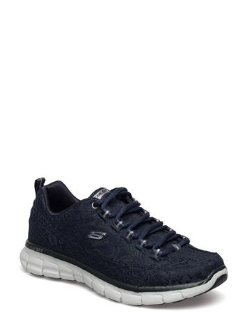 Skechers Womans Synergy Silky Sweet NAVY SILVER
