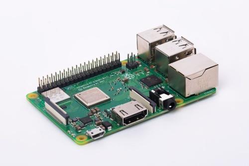 Raspberry Pi 3 (Model B+, 1GB), yhden piirilevyn tietokone
