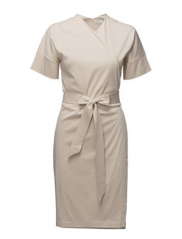 Filippa K Belted Wrap Dress BONE