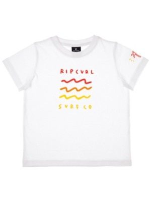 Rip Curl Wavey Groms T-Shirt Boys optical white Jätkät