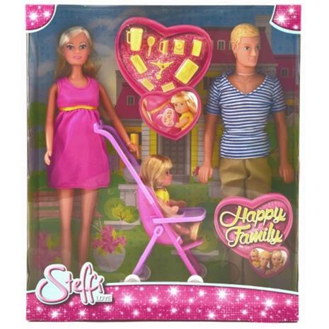 Simba Toys, Steffi Love, Happy Family, Dockset