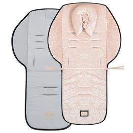 Bjällra of Sweden, Seat cushion in pink velvet