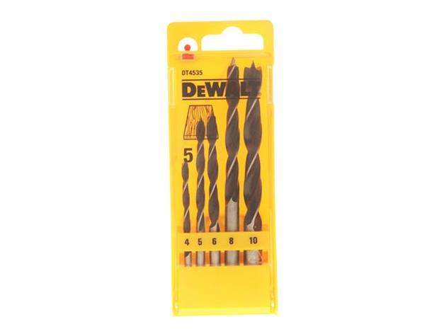 Puuporanteräsarja DeWalt; 4-10 mm; 29 kpl.