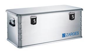 Zarges Box Alu Laatikko 81 litraa , harmaa/valkoinen