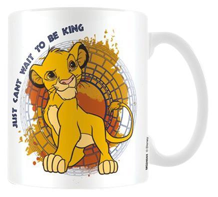 Leijonakuningas King Muki valkoinen