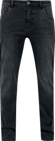 Urban Classics Stretch Denim Pants Farkut musta