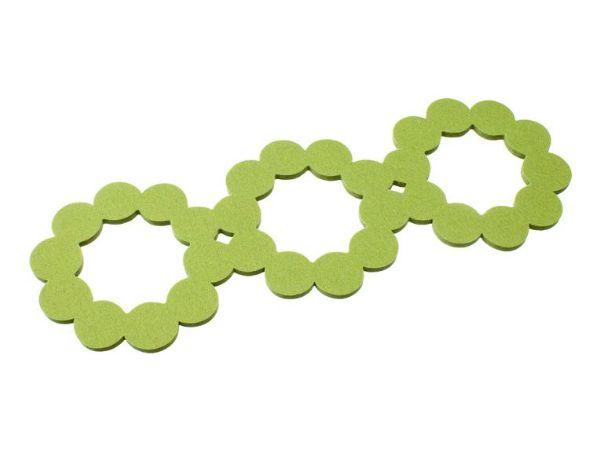 Verso Design Helmi pannunalunen pitkä, vihreä