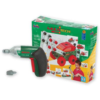 Klein Bosch 8497, Mini Multi Tech ja Ixolino-akkuporakone