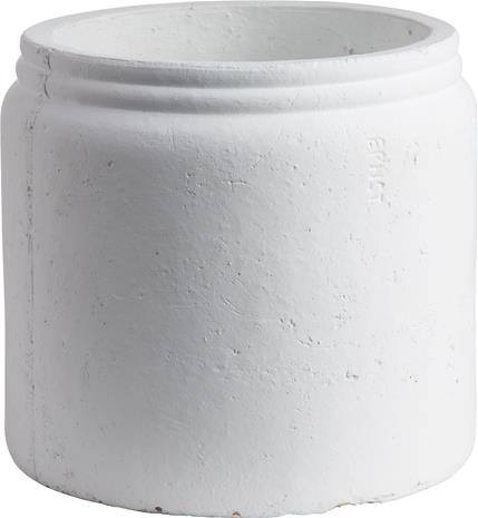 ERNST Ruukku 14x13 cm Rustiikkinen Valkoinen