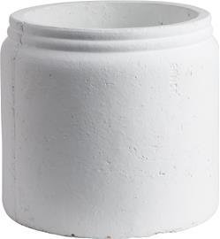 ERNST Kruka 19x17 cm Rustiikkinen Valkoinen