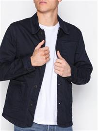 Selected Homme Shntokyo 6115 D. Blue Dnm Jacket Takit Tummansininen