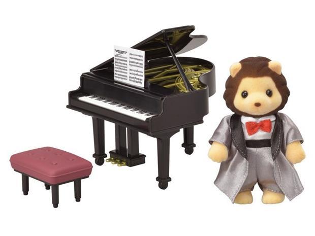 Sylvanian Families 6011, konserttiflyygeli ja leijonapianisti