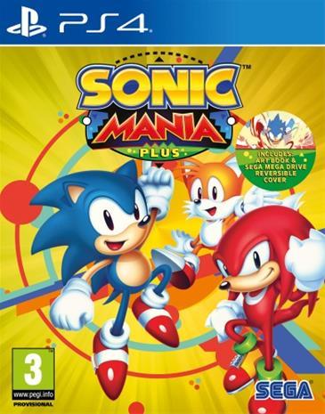 Sonic Mania Plus, PS4 -peli