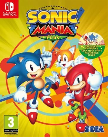 Sonic Mania Plus, Nintendo Switch -peli