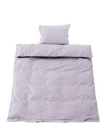 Smallstuff - Baby Bedding 70x100 cm - Big Leave Blue Rose