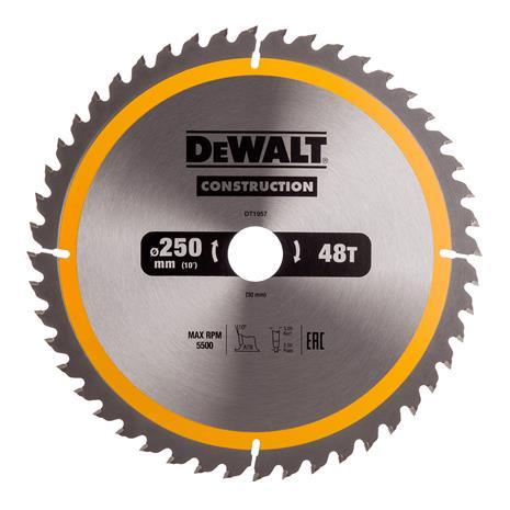 Katkaisulaikka DeWalt DT1957-QZ; 250 mm