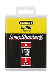 Niitit Stanley Light Duty; 10 mm; 5000 kpl.; tyyppi A