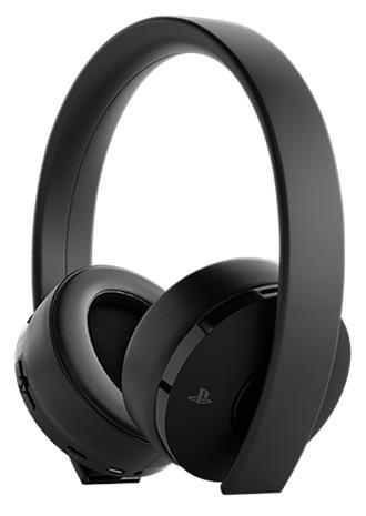 Sony Gold Wireless (PS4), langattomat pelikuulokkeet mikrofonilla