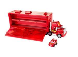 Cars miniracer Mack truck transporter rekka