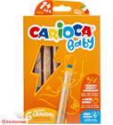 Carioca Baby 3in1 Cray värikynät ja teroitin