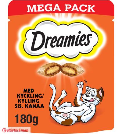 Dreamies Kana 180 g kissan herkku